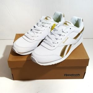 Reebok White Royal Cljog 2 Sneakers Size 7.5